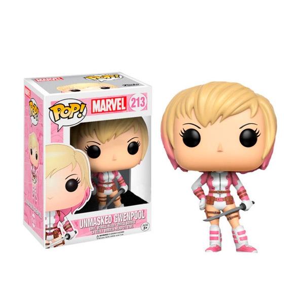 Figura POP Marvel Gwenpool unmasked Exclusive