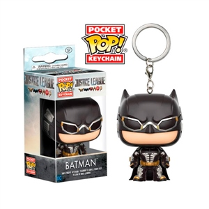 Llavero Pocket POP! DC Justice League Batman