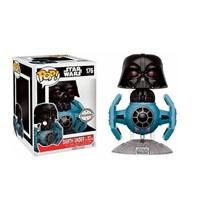 Figura POP Star Wars Darth Vader Tie Fighter 15cm Exclusive