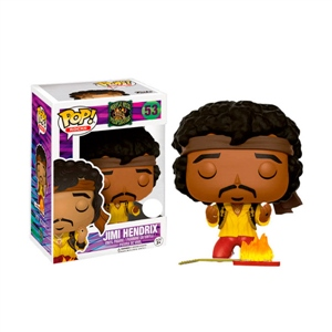 Figura POP Jimi Hendrix Monterey Guitar on Fire Exclusive
