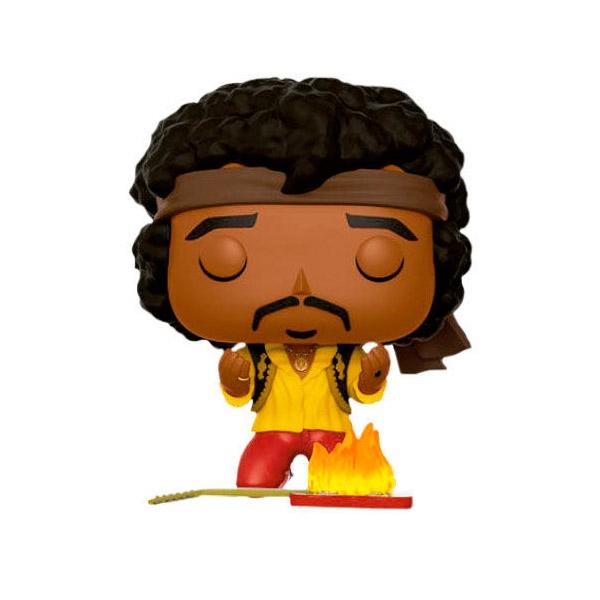 Figura POP Jimi Hendrix Monterey Guitar on Fire Exclusive