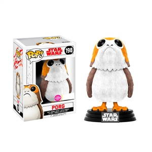 Figura POP Star Wars The Last Jedi Porg Flocked Exclusive