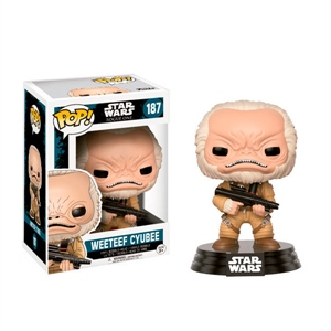 Figura POP Star Wars Rogue One Weeteef Cyubee