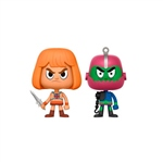 Set figuras Vynl Masters Of The Universe He-Man y Trapjaw