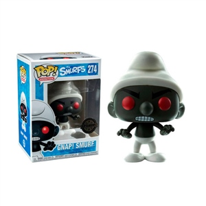 Figura POP The Smurfs Black Smurf Exclusive