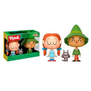 Figuras Vynl Wizard Of Oz Dorothy con Toto y The Scarecrow