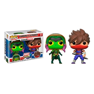 Set figuras POP Marvel Gamora vs Strider