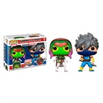 Figuras POP Capcom vs Marvel Gamora vs Strider Exclusive