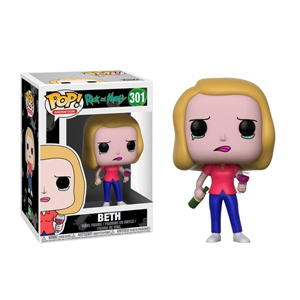 Figura POP Rick & Morty Beth with Wine Glass