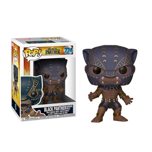 Figura POP Marvel Black Panther Warrior fall