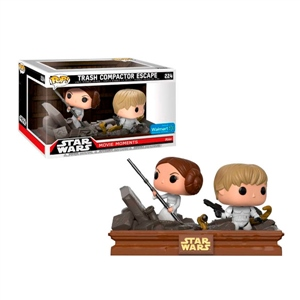 Figura POP! Star Wars Luke & Leia Trash Compactor Exclusive