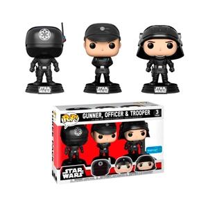 Set 3 figuras POP! Star Wars Gunner Officer & Trooper
