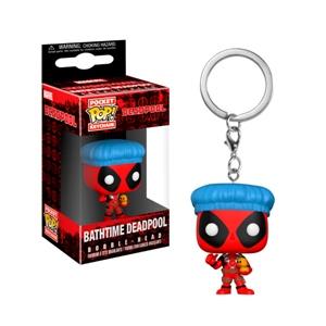 Llavero Pocket POP Marvel Deadpool Bathtime