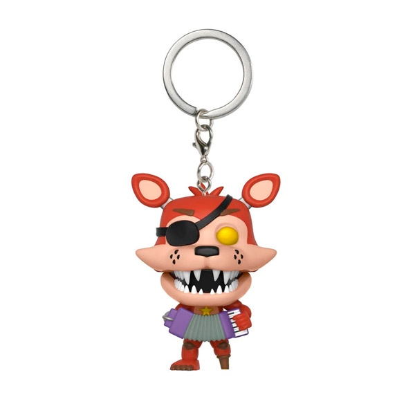 Llavero Pocket POP 5 Nights al F. 6 Pizza Sim Rockstar Foxy