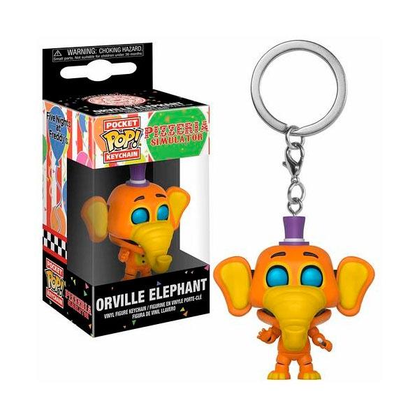 Llavero Pocket POP Five Nights al Freddys 6 Orville Elephant