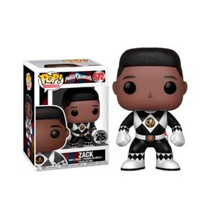 Figura POP Power Rangers Black Ranger Zack No Helmet