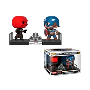 Figura POP Marvel Captain America vs Red Skull
