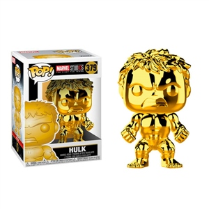 Figura POP Marvel Studios 10 Hulk Gold Chrome