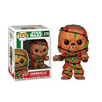 Figura POP Star Wars Holiday Chewie with Lights