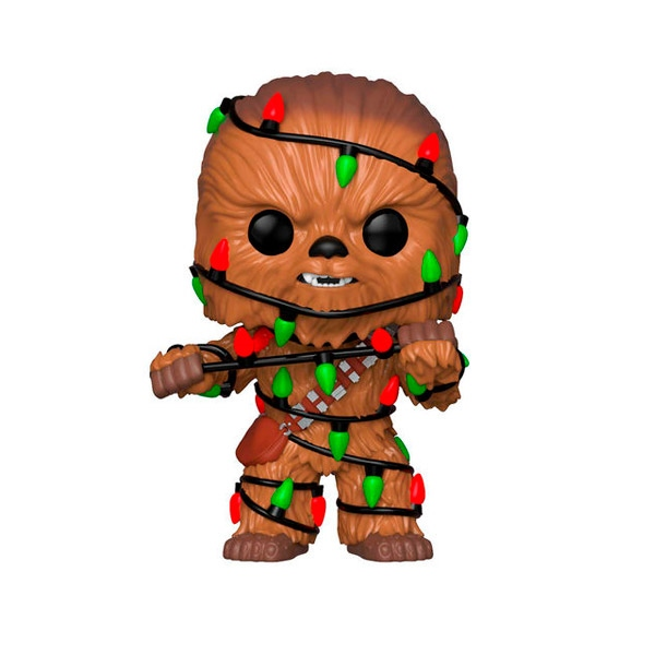 Figura POP Star Wars Holiday Chewie with Lights