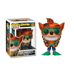 Funko POP Crash Bandicoot Crash with Scuba Series 2