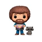 Figura POP Bob Ross with Raccoon