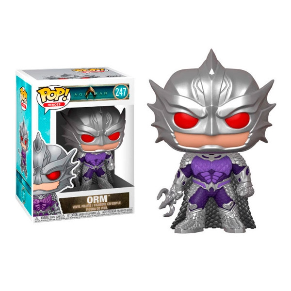 Figura POP DC Comics Aquaman Orm