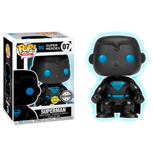Figura POP DC Comics Justice League Superman Silhouette Excl