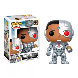 Figura POP DC Justice League Cyborg with Mother Box Excl.