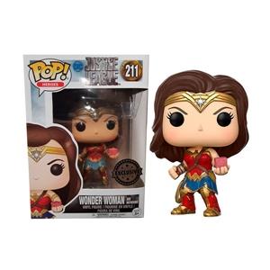 Figura POP DC Justice League Wonder Woman Exclusive