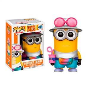 Figura POP Despicable Me 3 Minions Tourist Jerry