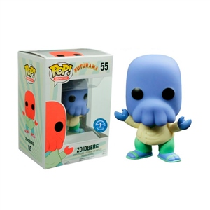 Figura POP Futurama Alternate Universe Blue Zoidberg