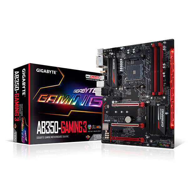 Gigabyte AB350 Gaming – Placa Base AMD Ryzen