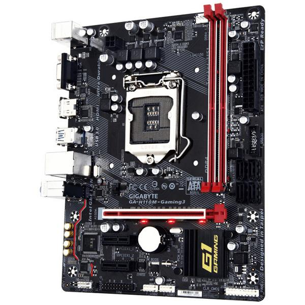 Gigabyte H110M-Gaming 3 – Placa Base
