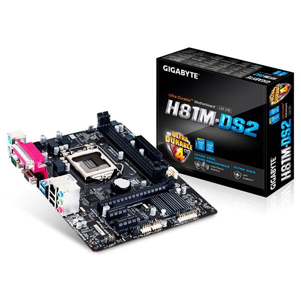 Gigabyte H81M-DS2 – Placa Base