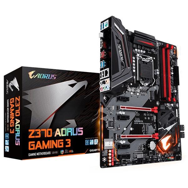 Gigabyte Aorus Z370 Gaming 3 – Placa Base