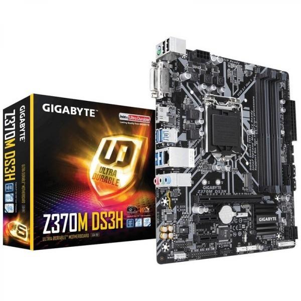 Gigabyte Z370M-DS3H – Placa Base