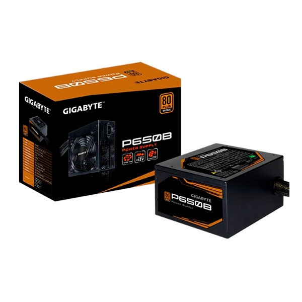FUENTE ALIMENTACION ATX  650W GIGABYTE 80+  BRONZE GP-P650B