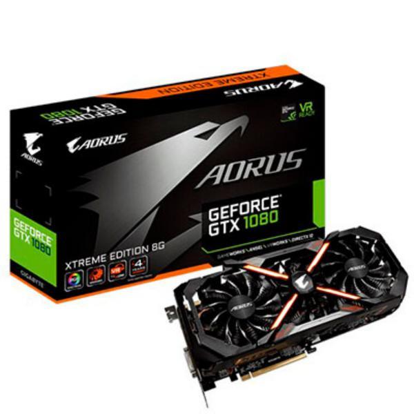 Gigabyte Nvidia GeForce GTX 1080 Aorus Extreme 8G – Gráfica
