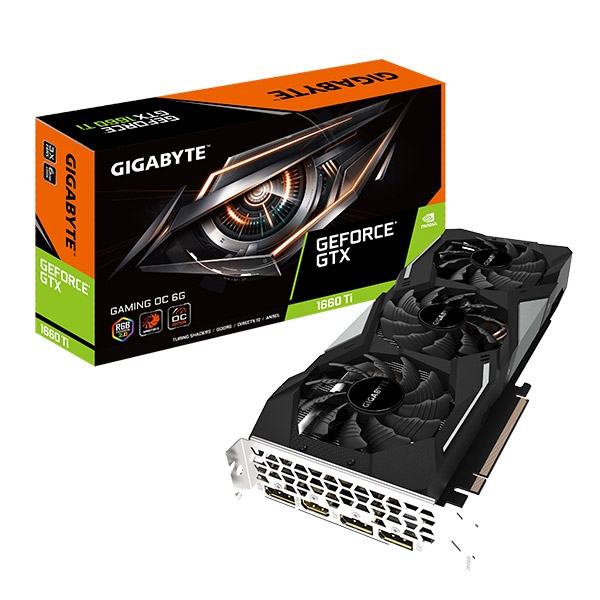 Gigabyte Nvidia GeForce GTX 1660 Ti Gaming OC 6GB - Gráfica