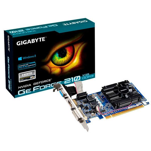 Gigabyte Nvidia GeForce 210 1GB GDDR3 – Gráfica