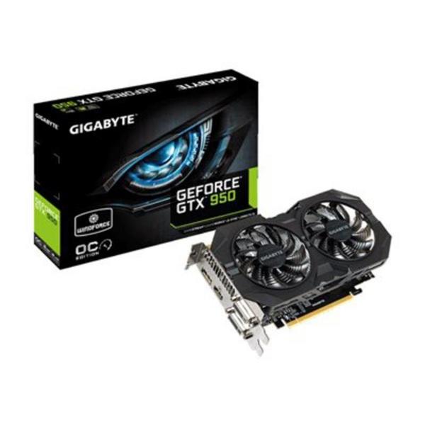 Gigabyte Nvidia GeForce GTX950 WF OC 2GB DDR5 – Gráfica