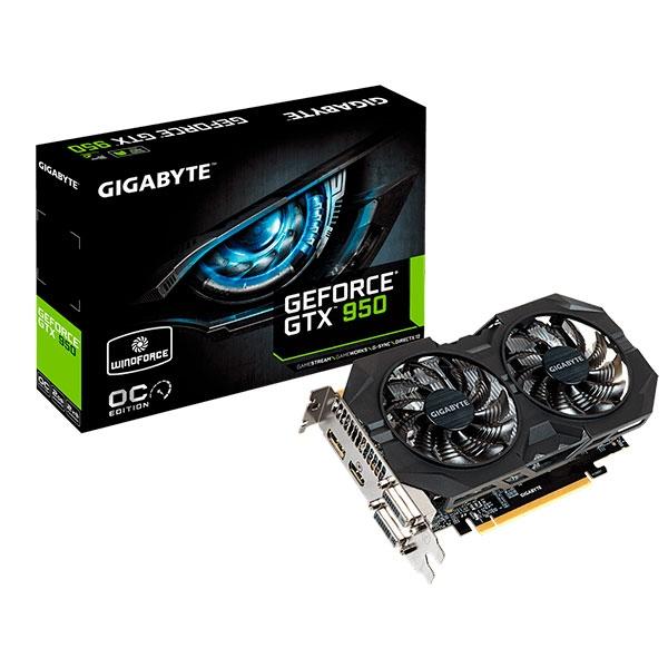 Gigabyte Nvidia GeForce GTX 950 Wind Force OC – Gráfica