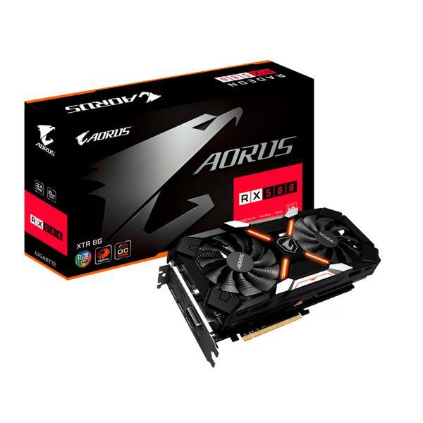 Gigabyte AMD Aorus RX580 Xtreme 8GB – Gráfica