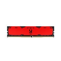 GOODRAM IRDM DDR4 2400MHz 4GB CL15 SR Rojo - Memoria RAM