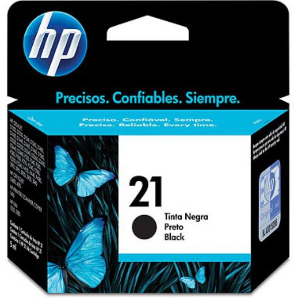 HP 21 negro 190 pag – Tinta