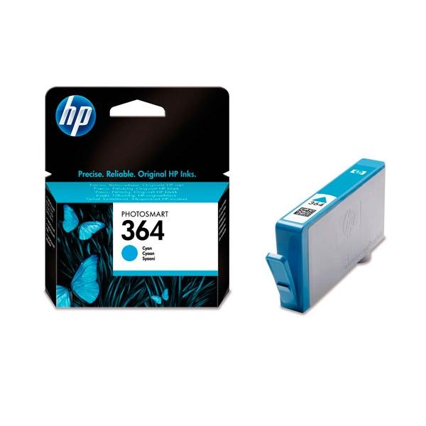 HP 364 cían- Tinta
