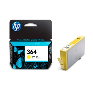 HP 364 amarillo- Tinta