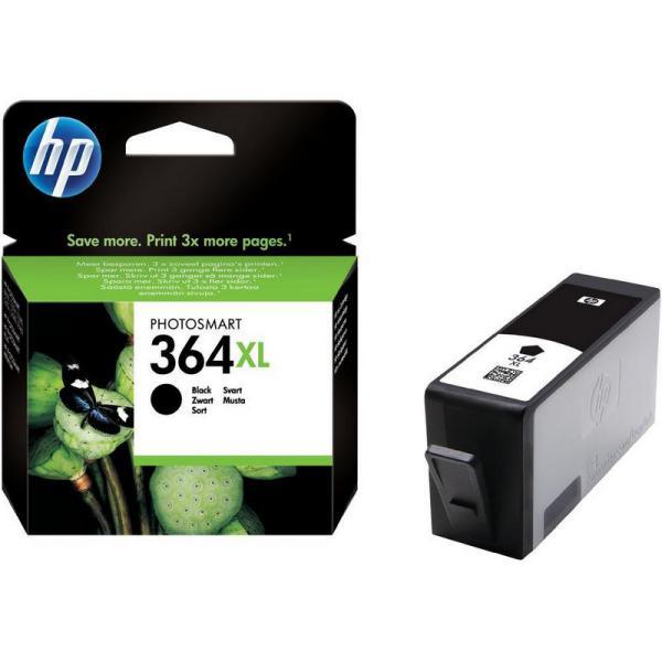 HP 364XL de alta capacidad negro 550 pag – Tinta
