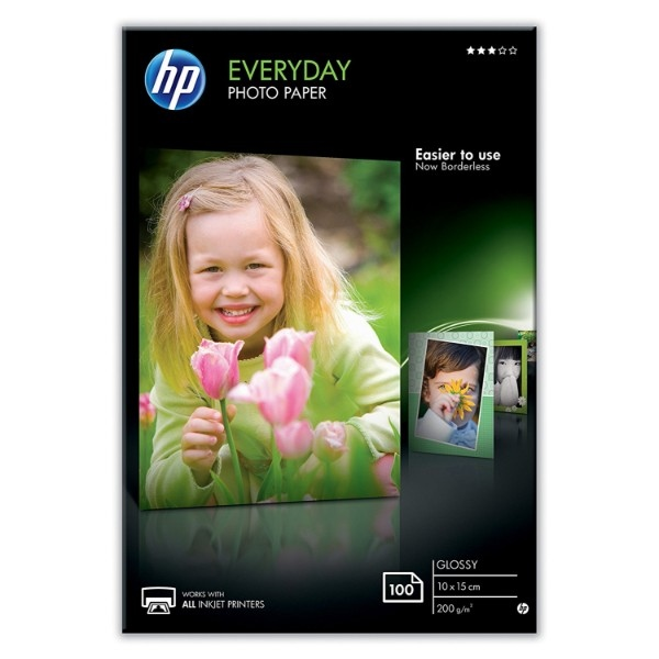 HP Papel fotogáfico 100x150mm 200g/m2 satinado – Papel